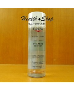 Eucerin Pro Acne Solution Acne and Make Up Cleansing Water 200ml