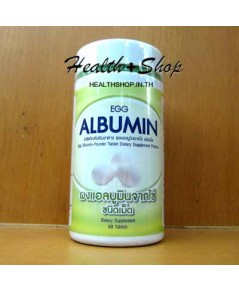 Egg Albumin 60 tablets