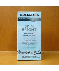 Blackmores Natural Vitamin E Cream Skin Bright 50g