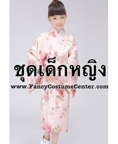 (ข อ ง ห ม ด ค่ะ) ชุดกิโมโน ผ้าหนาอย่างดีบุซับใน  ขนาดเด็กสูง 105-115 cm