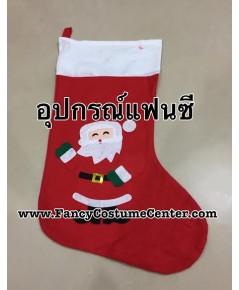 พร้อมส่ง ถุงเท้าของขวัญ ขนาดใหญ่ (ใยสำลี) ขนาด16X27นิ้ว (ซื้อถุงเท้านี้อย่างเดียว ขั้นต่ำ2ใบค่ะ)