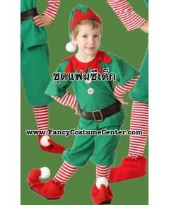 (ข อ ง ห ม ด ค่ะ)  ชุดเอลฟ์ ELF ขนาดเด็กสูง 140 cm (ชุดตามรูปทุกชิ้น)