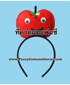 พร้อมส่ง ที่คาดผมผลไม้ ที่คาดผมแฟนซี ที่คาดผมแอ๊บเปิ้ล