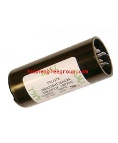 สตาร์ท คาปาซิเตอร์ - แคปสตาร์ท (ตัวพลาสติกกลม สีดำ) หัวเสียบ 108-130MFD 330V
