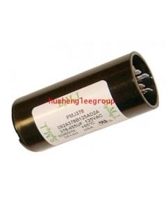 สตาร์ท คาปาซิเตอร์ - แคปสตาร์ท (ตัวพลาสติกกลม สีดำ) หัวเสียบ 64-77MFD 220V