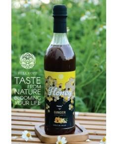 น้ำผึ้งธรรมชาติแท้ ผสมน้ำขิง