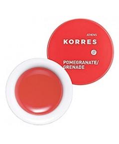 Korres Lip Butter ลิปบัตเตอร์เนื้อเนียนบำรุงริมฝีปากพร้อมสีเรื่อๆกลิ่นหอมน่ากิน 6g. สีPomegranate