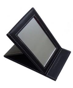 Bobbi Brown Black Leather Foldable Mirror กระจกแต่งหน้าปกหนังสีดำตั้งได้
