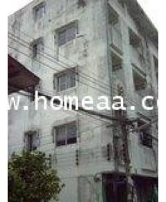 อพาร์ทเม้น 5 ชั้น ถ.รังสิต-นครนายก คลอง3 ซ.สะอาดวัฒนา ธัญบุรี ปทุมธานี เนื้อที่ 59 ตร.วา พร้อมอยู่