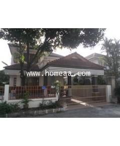 บ้านเดี่ยว 2 ชั้น ม.พนาสนธิ์ การ์เด้นโฮม3 เนื้อที่ 51 ตร.วา ซ.ร่มเกล้า15 มีนบุรี พร้อมอยู่(H1001-CL)