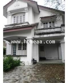 บ้านเดี่ยว 2ชั้นครึ่ง ม.ชัยพฤกษ์ วัชรพล รามอินทรา เนื้อที่ 75 ตร.วา ท่าแร้ง บางเขน พร้อมอยู่ (H1745)