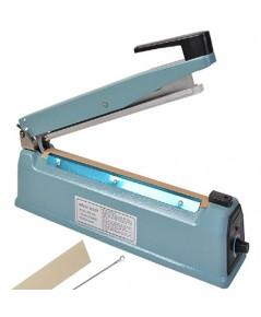 เครื่องซีลไฟฟ้าแบบกด ยาว 400 mm.โครงเหล็ก สำหรับซีลถุงพลาสติก PPและ PE 1608-114