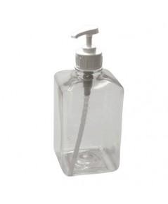 ขวดใส่น้ำเชื่อมพลาสติก พร้อมหัวปั๊ม 1610-533