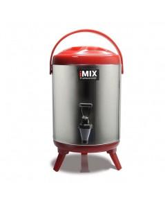 ถังเก็บชา กาแฟ  และเก็บเครื่องดื่มร้อน-เย็นได้ ความจุ 8 ลิตร สีแดง 1614-129-C03
