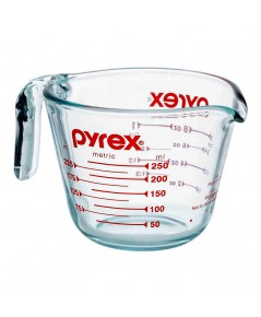 Pyrex ถ้วยตวงแก้ว แก้วตวง USA ขนาด 250 ml 1610-213