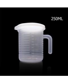 ถ้วยตวงพลาสติก 250 CC มีฝาปิด 1610-616
