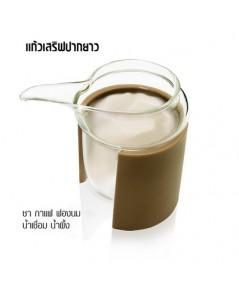 แก้วเสริฟปากยาว สำหรับเสริฟครีมฟองนม กาแฟ 1610-649
