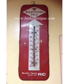 ป้ายปรอท น้ำอัดลม อาซี RC  Royal Crown Cola โบราณ