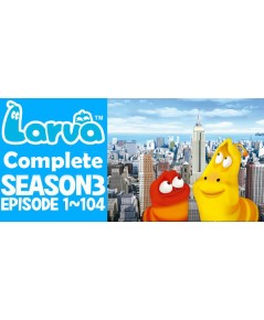 LARVA in New York LARVA Season 3 ชุด 1 DVD