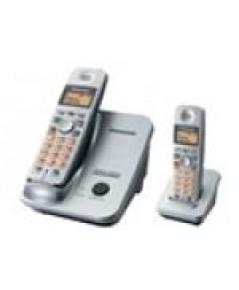โทรศัพท์ Panasonic โทรศัพท์ไร้สาย 2.4 GHz GIGARANGE DIGITAL รุ่น KX-TG3522BX ( สีดำ )