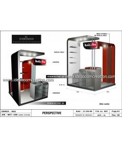 บริการออกแบบ Booth  ร้านขายมือถือ และ ร้านค้า IT ต่างๆ
