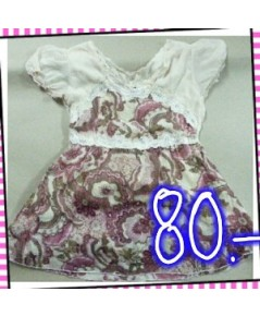 เสื้อผ้าชีฟอง ใส่เย็นใส่สบาย รอบอก 38-40 นิ้ว บ่า 4 นิ้ว วงแขน 18 นิ้ว ความยาว 19 นิ้ว