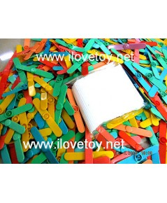 ของเล่นโบราณ คอปเตอร์ไม้ไผ่ (พลาสติก) ของเล่นชั่งกิโล ถุงละ 500 กรัม