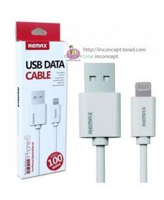สายชาร์จ Remax Lightning USB data cable