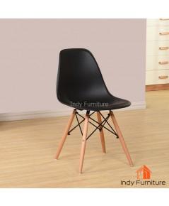 เก้าอี้อเนกประสงค์ รุ่น Wagon สีดำ/ขาไม้บีช