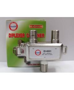 ideasat Diplexer Combiner ID-0201 ตัวรวม-แยกสัญญาณ