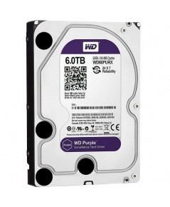 Harddisk 6 TB SATA-III WD Purple 64MB for CCTV