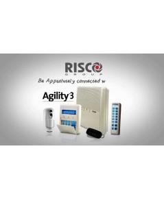 ระบบกันขโมย บ้าน สำนักงาน Risco Agility 3  ชุดNO PSTN(ไม่รองรับสายโทรศัพท์)