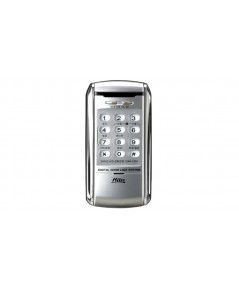 Milre Digital door lock ล๊อคอัตโนมัติจากประเทศเกาหลี แบบกดรหัส รุ่น MI-2300(silver)