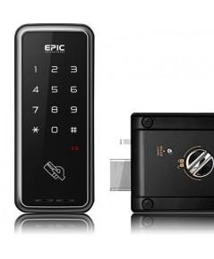 EPIC Digital door lock ล๊อคอัตโนมัติจากประเทศเกาหลี แบบกดรหัสและบัตรรุ่น TOUCH M
