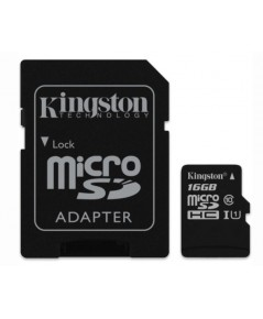 Kingston MicroSD 16GB Class 10 80MB/S พร้อม SD adaptor