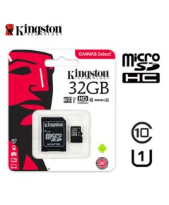 Kingston MicroSD 32GB Class 10 80MB/S พร้อม SD adaptor
