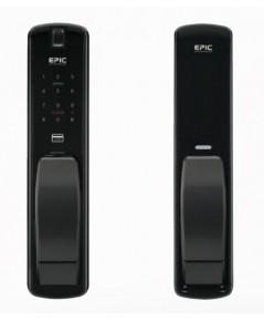 EPIC Digital door lock ล๊อคอัตโนมัติจากประเทศเกาหลี ใช้ได้ทั้งแบบกดรหัสบัตรและนิ้วมือ รุ่น EF-P8800K