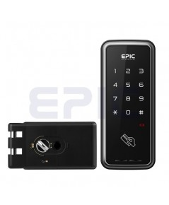 EPIC Digital door lock ล๊อคอัตโนมัติจากประเทศเกาหลี แบบกดรหัสและบัตรรุ่น TOUCH EH-608H