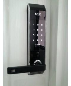 EPIC Digital door lock ล๊อคอัตโนมัติจากประเทศเกาหลี แบบกดรหัสและบัตรรุ่น รุ่น ES-809LBR