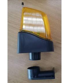 Type BLPT206 ไฟหัวเสา LED พร้อมวงจรกระพริบ 220VAC (ใช้กับ มอเตอร์ประตูรีโมททั่วไป)