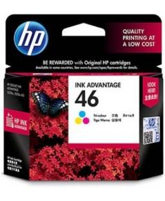 ตลับหมึกอิงค์เจ็ต HP 46 CO หมึกสี