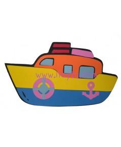 ตุ๊กตาโฟมยางติดผนัง เรือสำเภา