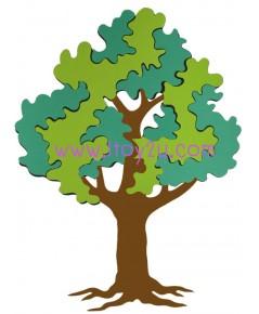 ตุ๊กตาโฟมยางติดผนัง ต้นไม้