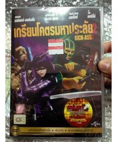 dvd kick-ass ภาค 2 thai เกรียนโคตรมหาประลัย / cat