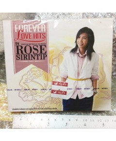 cd mga โรส ศิรินทิพย์: Forever Love Hits By Rose Sirintip