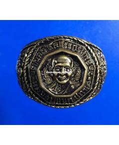 แหวนรุ่นแรก เนื้อทองเหลือง ปี 54