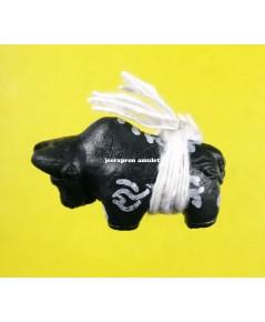 วัวธนู มหิทธิกามหิงสา (วรรณณะดำ) ปี 62 ลป.วรรณะ วัดศรีบุญส่ง