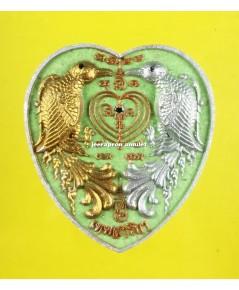 เทพสาริกา รุ่นมหาเสน่ห์ เนื้อผงมหาราช ปี 61 ลพ.รักษ์ วัดสุทธาวาสวิปัสสนา