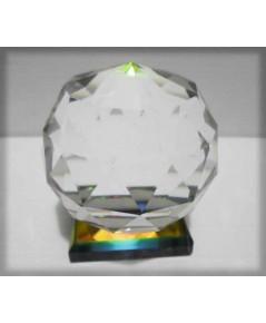 ลูกแก้วฐานคริสตัล  40 ขนาด 4×4×4 ซม.3