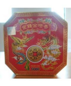 ธูปขดเหรียญทอง(ล)กล่องแดง 10ขด 12ชม. Incense coil (10coils 12hours)